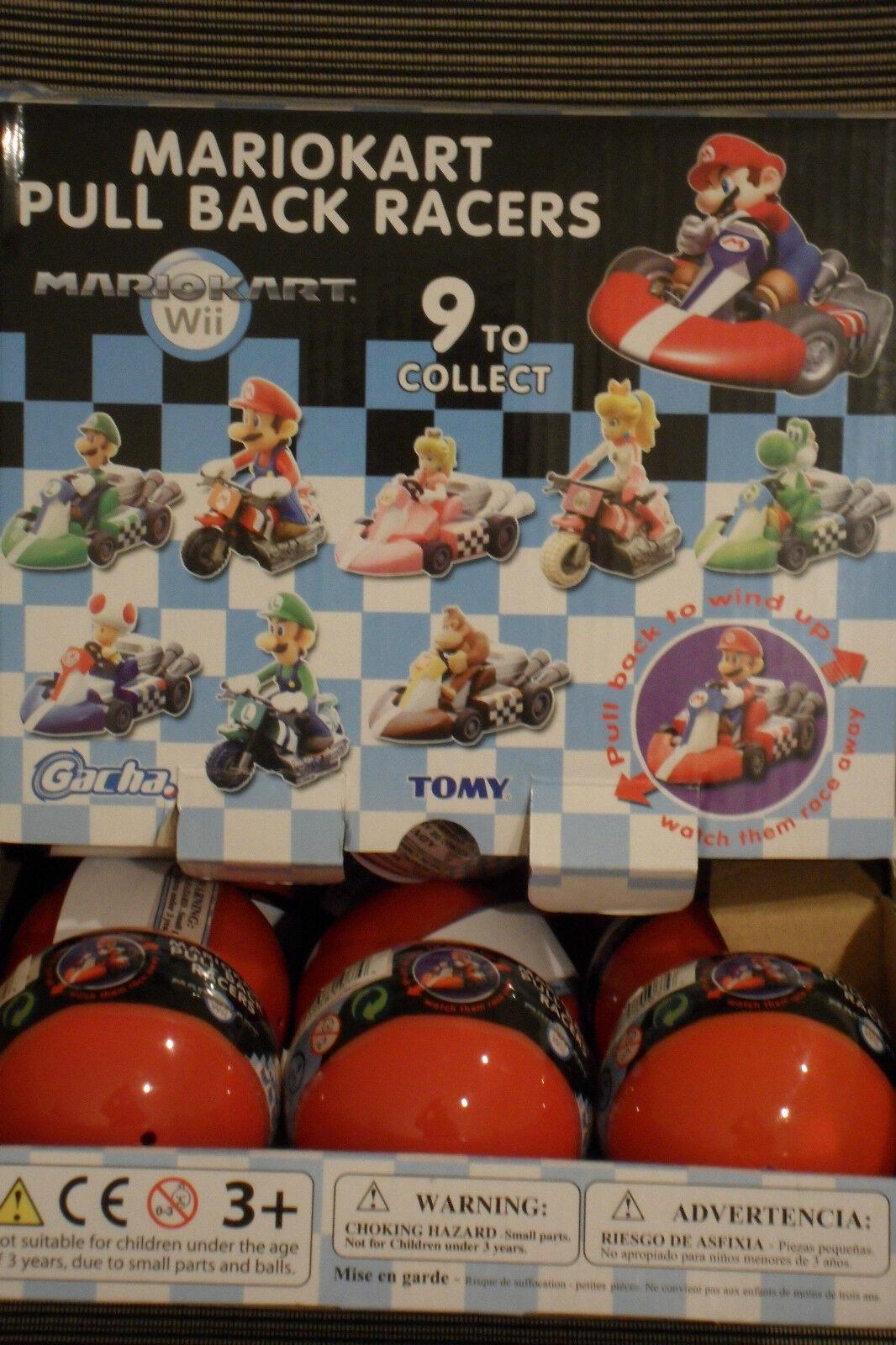 Nintendo Super Mario Bros. MarioKart Wii Pull Back Racers 1 Random