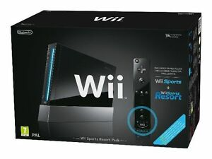 Nintendo Wii Sports Resort Pack Black Co...