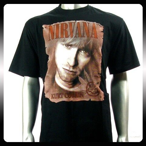 Nirvana Kurt Cobain Rock Punk Alternative T Shirt Sz M NI13