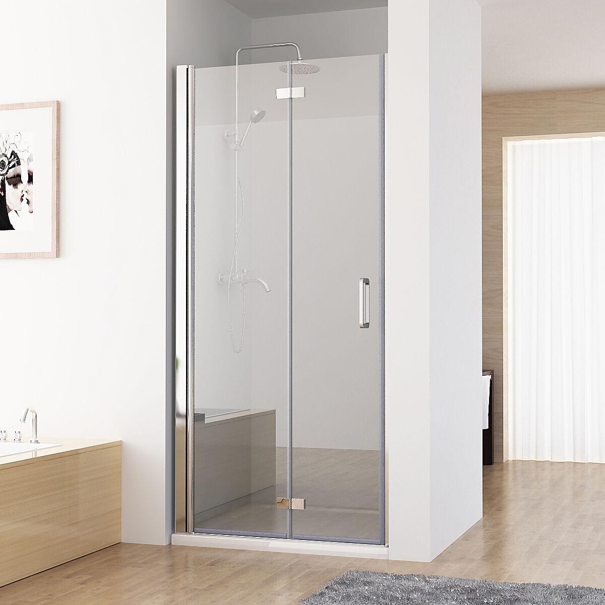Nischent R Duschabtrennung Faltt R Duschwand Dusche Nano