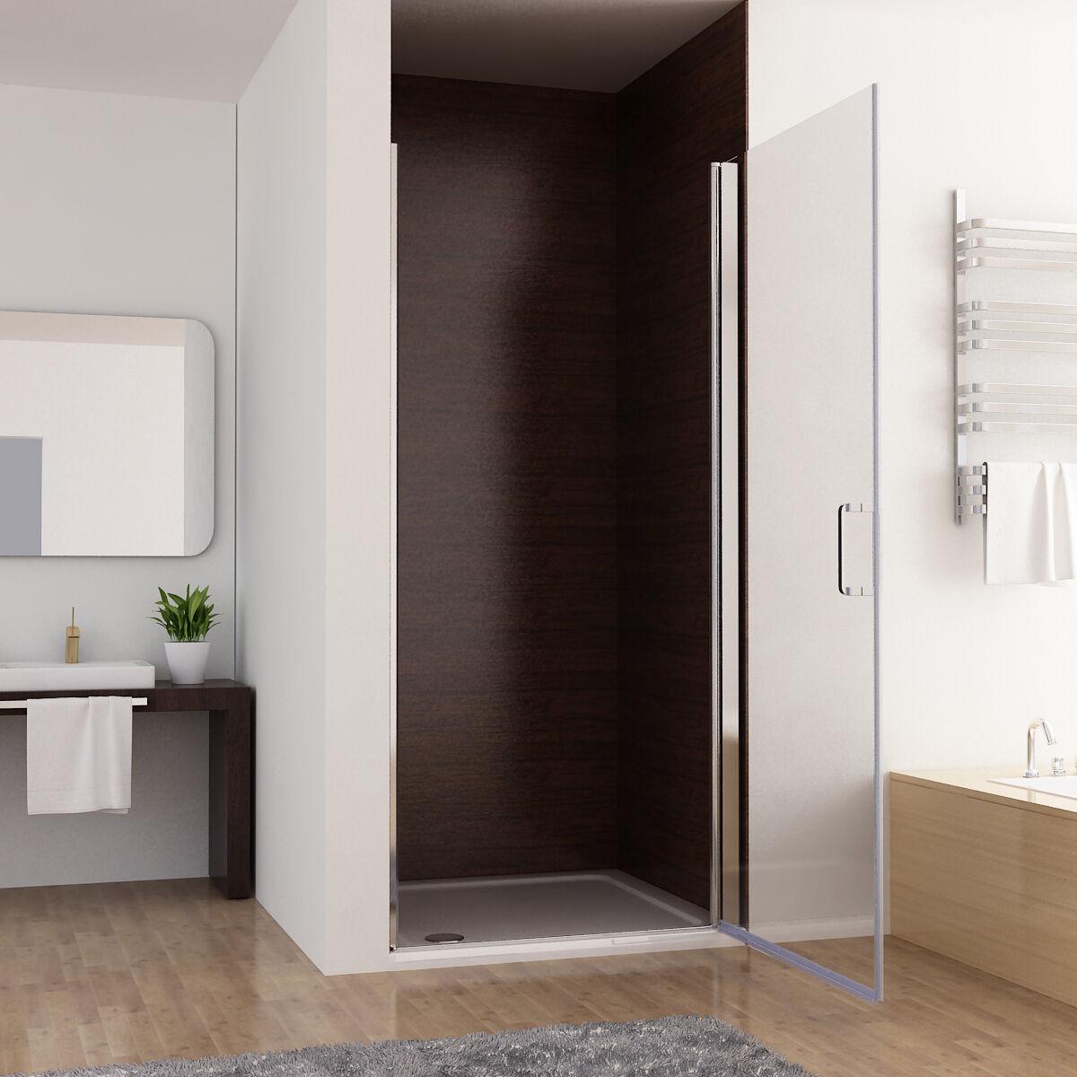 nischent r duschabtrennung schwingt r duschwand dusche. Black Bedroom Furniture Sets. Home Design Ideas