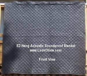 NoizMute,EZ Hang Acoustic Sound Proof Blanket,72H x 80W. Buy 3 get 1 free glove. in Musical Instruments & Gear, Wholesale Lots, Other Wholesale Lots | eBay