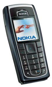Nokia 6230i - Schwarz (Ohne Simlock) Han...