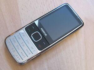 Nokia-6700-classic-in-chrom-WIE-NEU-inkl-Datenk-ohne-Simlock
