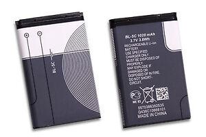 Nokia-Battery-Akku-BL-5C-1020mAh-fuer-6230i-C1-C2-6030-6555-N70-BL-5C-7610-E50