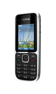 Nokia C2-01 - Black (Orange) Mobile Phon...