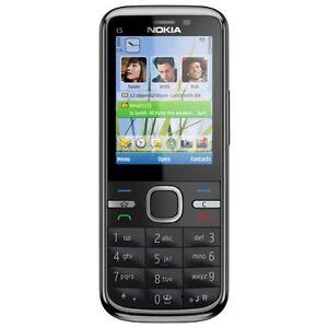 Nokia-C5-00-Schwarz-5-0-MP-SIM-Lock-Frei-TOP-Preis