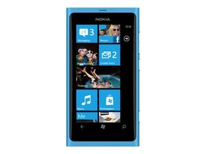 Nokia Lumia 800 - 16 GB - Cyan (Unlocked...