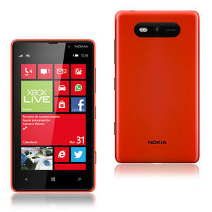 Nokia Lumia 820 - 8 GB - Red (Unlocked) ...