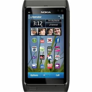 Nokia N8 - 16 GB - Dark grey (Unlocked) ...