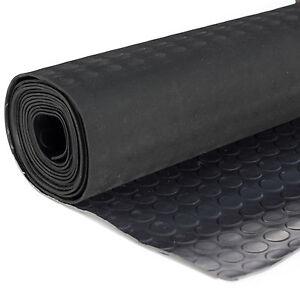 Noppenmatte-Flachnoppenmatte-Antirutschmatte-Gummimatten-Bodenbelag-125-cm-breit