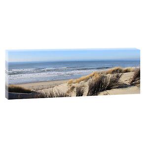 nordseed nen meer strand bilder keilrahmen leinwand posterxxl 120cm 40cm 469 ebay. Black Bedroom Furniture Sets. Home Design Ideas