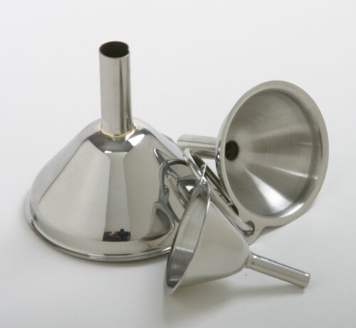 Norpro 18/10 Stainless Steel Funnel 3 pc Set NEW in Home & Garden, Kitchen, Dining & Bar, Kitchen Tools & Gadgets | eBay