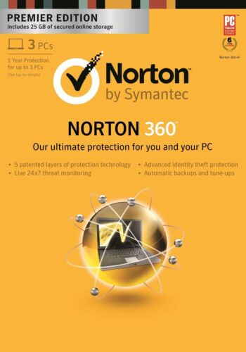 Norton 360 Premier Edition / Multi-Device Windows 7/8, Android, Mac - BRAND NEW in Computers/Tablets & Networking, Other | eBay