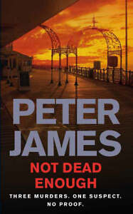 Not Dead Enough by Peter James (Paperbac...