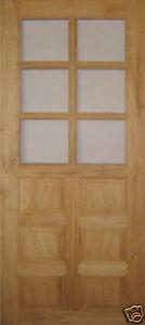 Nr-021-Wertvolle-Teakholztuer-Zimmertuer-Einzeltuer-Haustuer-Glastuer-Terrassentuer