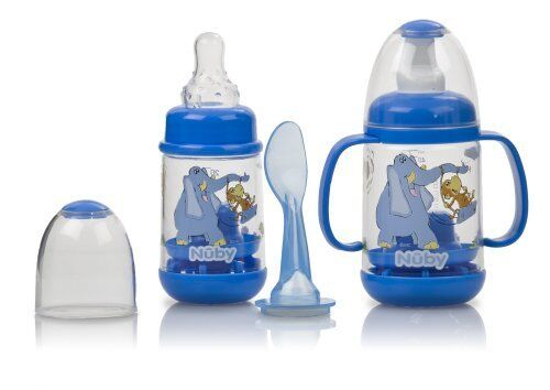 Nuby Infant Feeder Feeding Bottle Set Multi colors NEW! in Baby, Feeding, Baby Bottles | eBay