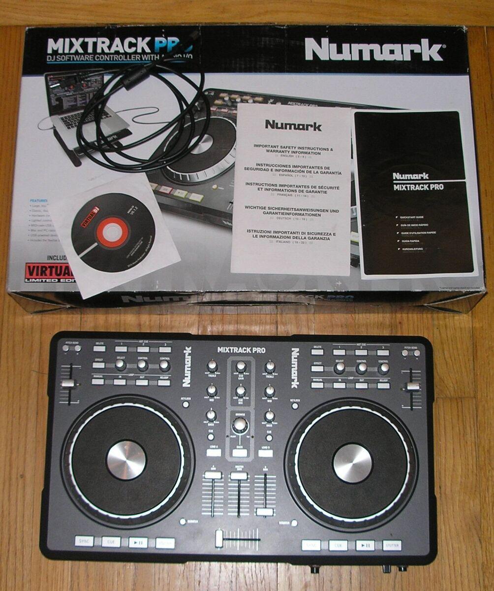 Numark Mixtrack Pro DJ Software Controller with Audio I O