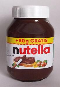 Nutella glas bild