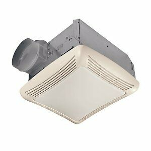 Bathroom Vent on Broan 678 Bathroom Exhaust Vent Ceiling Fan Light ...