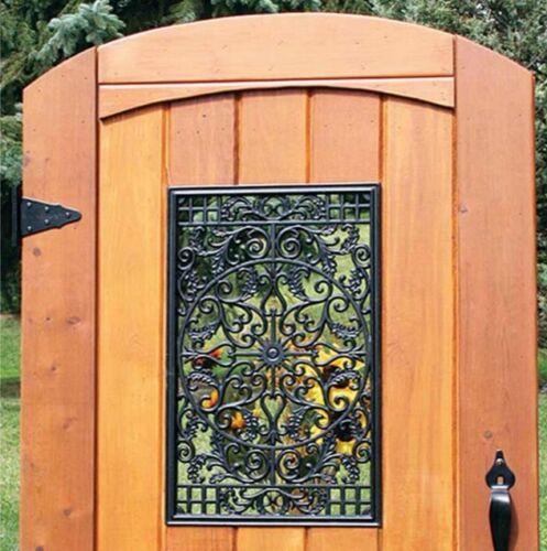 Nuvo Iron Rectangle Decorative Gate Fence Insert Acw61
