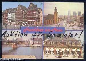 O72 Alte AK Ansichtskarte Frankfurt am Main Verschiedene Motive - Franken, Deutschland - O72 Alte AK Ansichtskarte Frankfurt am Main Verschiedene Motive - Franken, Deutschland