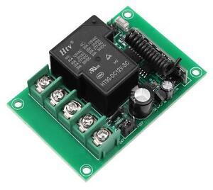 OB-433L1-12-24V-Lernfaehiger-Funk-Empfaenger-433Mhz-Fernbedienung-Timer-12V