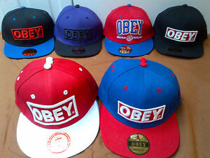 OBEY SNAPBACK CAPS, SNAP BACK, HAT