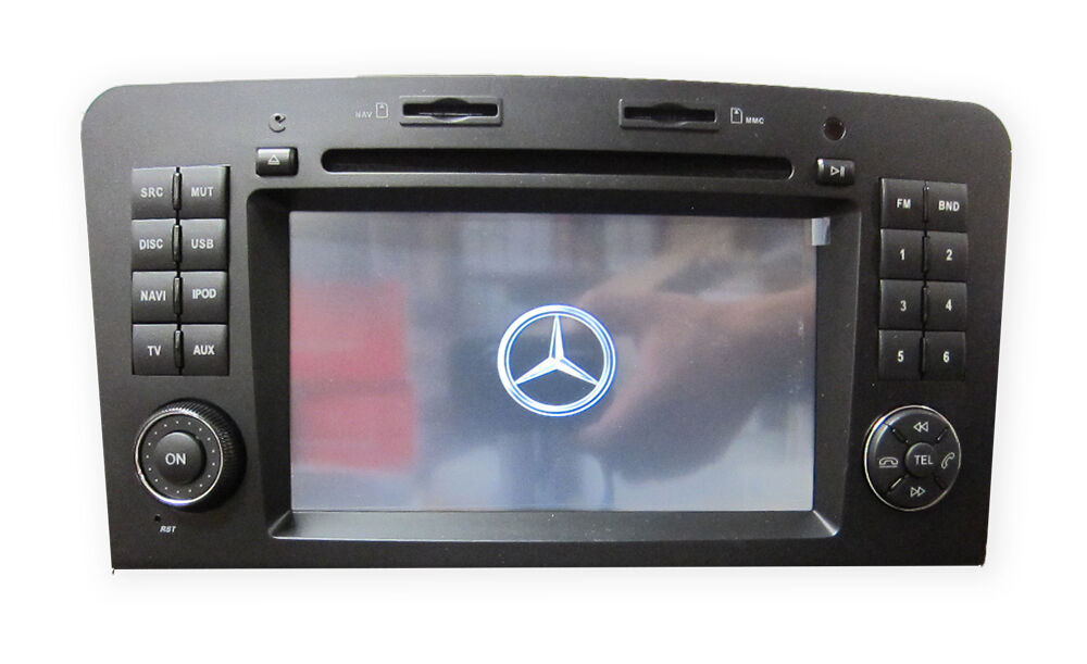 Oe fitment multimedia gps usb dvd radio stereo mercedes for 2001 mercedes benz ml320 radio