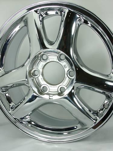 Chrome GMC Envoy Wheels Rims 5136 09593391