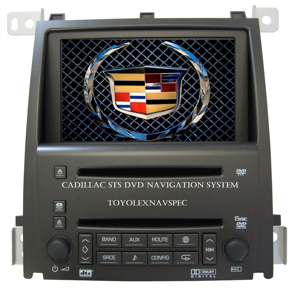 GM GM Cadillac STS Navigation System Radio 6 Disc CD DVD Radio