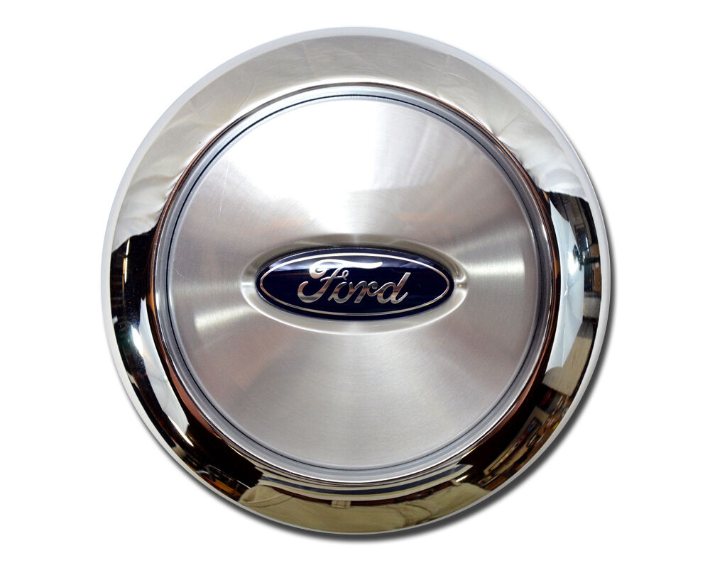 "New 2004 2008 Ford F 150 Wheel Center Cover Cap Fits 17"" Chrome Steel Wheel"