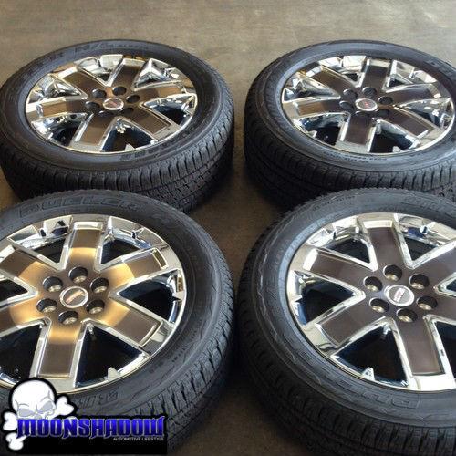 Chrome GMC Acadia Denali Wheels Rims Tires Factory Stock 5471
