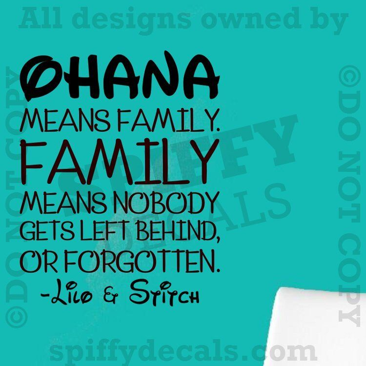 stitch ohana quote wallpaper - photo #7