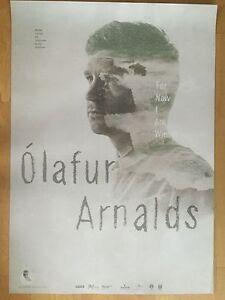 OLAFUR-ARNALDS-2013-TOUR-orig-Concert-Poster-Konzert-Plakat-A1-xx