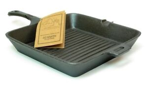 "OLD MOUNTAIN CAST IRON 10 1/2"" SQUARE SKILLET- NEW in Collectibles, Kitchen & Home, Kitchenware 