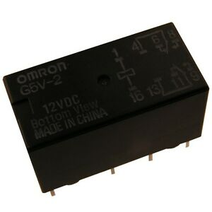 OMRON-G5V2-12-Relais-12V-DC-2xUM-2A-288R-Relay-for-Signal-Circuits-854063