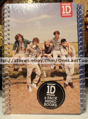 ONE DIRECTION 2pc Spiral JOURNAL/MEMO/NOTE BOOK Zayn+Louis+Harry+Liam+Niall 1D in Books, Accessories, Blank Diaries & Journals | eBay