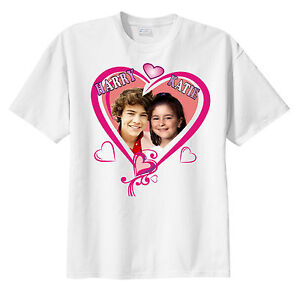 One direction personalized custom photo t shirt add your for Custom t shirts add photo