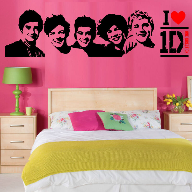 ONE DIRECTION Wall Art Vinyl Room Sticker Transfer Decal