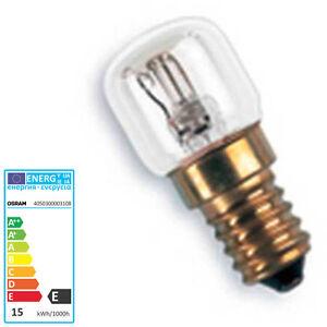 osram backofen lampe herd licht e14 15 watt t22 birne f r hohe temperaturen ebay. Black Bedroom Furniture Sets. Home Design Ideas