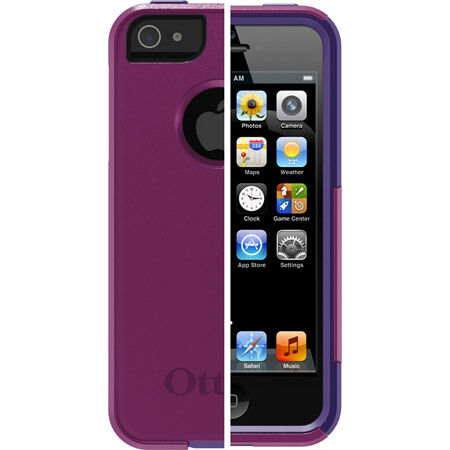 OTTERBOX COMMUTER CASE IPHONE 5 Boom Pop Purple Violet Purple & SCREEN PROTECTOR in Cell Phones & Accessories, Cell Phone Accessories, Cases, Covers & Skins | eBay