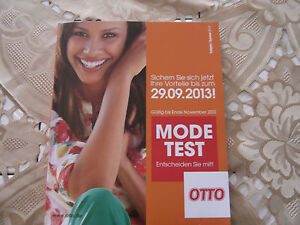 otto katalog mode test testkatalog fr hjahr sommer 2014 neu ungebraucht ebay. Black Bedroom Furniture Sets. Home Design Ideas