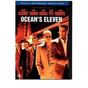 Ocean's Eleven (DVD, 2002, Full Frame Ed...