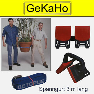 octopus tragesystem tragehilfe spanngurt spanngurte m bel tragen leicht gemacht ebay. Black Bedroom Furniture Sets. Home Design Ideas