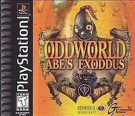 Oddworld: Abe's Exoddus  (Sony PlayStati...