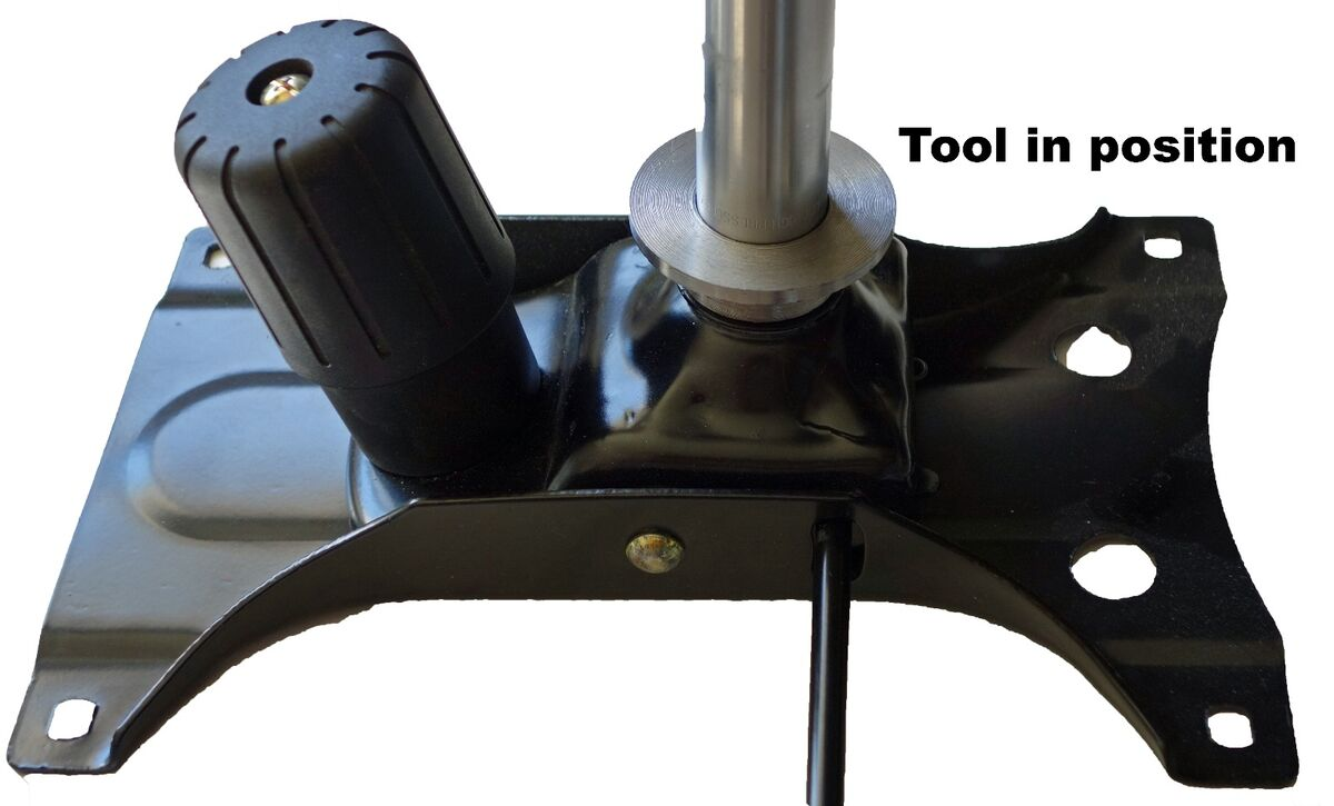 Office Chair Gas Cylinder Removal Tool Pneumatic Spring Spindle Separator Repair On Popscreen