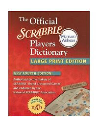 The Official Scrabble Players Dictionary...