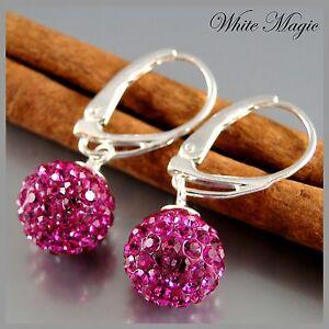 Ohrringe-mit-ORIGINAL-SWAROVSKI-ELEMENTS-Silber-925-verschiedene-Farben