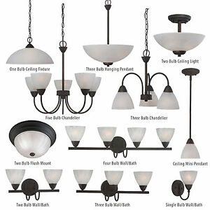 Oil Rubbed Bronze Ceiling Lights Bathroom Vanity Chandelier ...